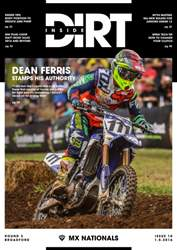 Inside Dirt issue Issue 10: MXN Round 3