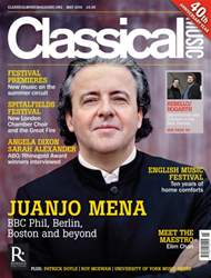 Classical Music issue May 2016