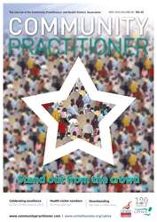 Community Practitioner issue May 2016