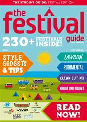 The Festival Guide issue The Festival Guide 2016
