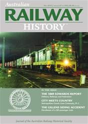 Australian Railway History issue ARH May 2016