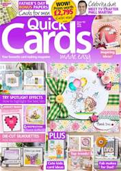 Quick Cards Made Easy issue May 2016
