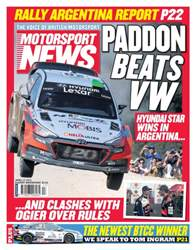 Motorsport News issue 27th April 2016
