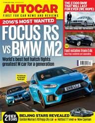 Autocar issue 27th April 2016