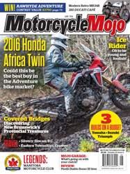 Motorcycle Mojo issue June 2016 Motorcycle Mojo
