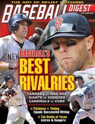 Baseball Digest issue May/June 2016