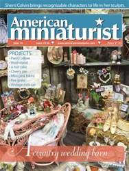 American Miniaturist issue Issue 158