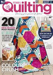 Love Patchwork & Quilting issue Issue 34