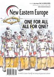 New Eastern Europe issue May-August 2016