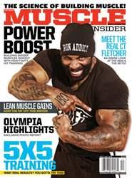 Muscle Insider Magazine issue Dec/Jan 2015