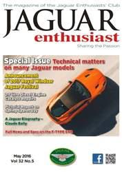 Jaguar Enthusiast issue Vol. 32 No. 5