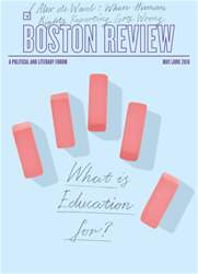 Boston Review issue May/Jun 2016