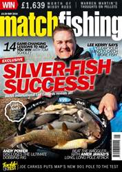 Match Fishing issue May 2016