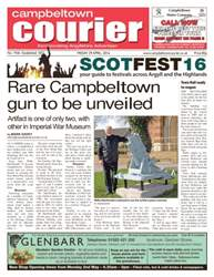 Campbeltown Courier issue 29th April 2016