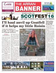 Arran Banner issue 30th April 2016