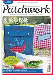 Popular Patchwork Magazine issue Bag Special 2016
