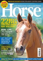 Horse issue June 2016