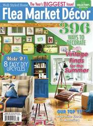 Flea Market Décor issue Summer 2016
