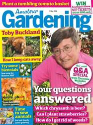Amateur Gardening issue 7th May 2016