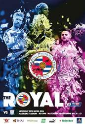 Reading FC Official Programmes issue 28 v Preston North End (15-16)