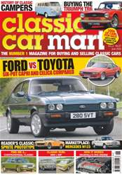 Classic Car Mart issue Vol. 22 No. 7 Ford VS Toyota