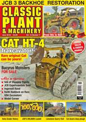 Classic Plant & Machinery issue Vol. 14 No. 7 Cat HT-4