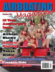 Airboating Magazine issue May Jun 2016