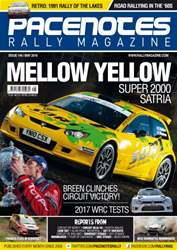 Pacenotes Rally magazine issue Issue 144 - May 2016