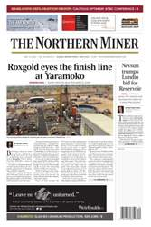 The Northern Miner issue Vol. 102 No. 12