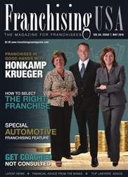 Franchising USA issue May 2016