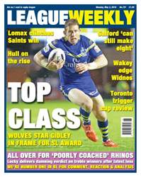 League Weekly issue 02/05/2016