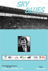 CCFC Official Programmes issue 10 V WEST HAM UNITED (11-12)