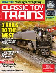 Classic Toy Trains issue July 2016