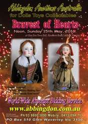 Abbingdon Auctions issue Bravest of Hearts