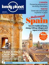 Lonely Planet Traveller (UK) issue June 2016