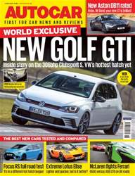 Autocar issue 4th May 2016