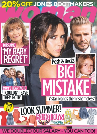Woman issue 9th May 2016