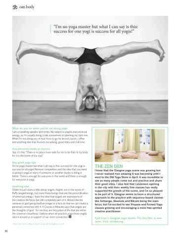 OM Yoga UK Magazine Preview 36