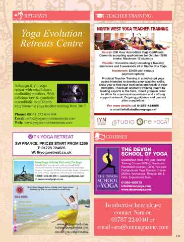OM Yoga UK Magazine Preview 143
