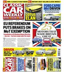 Classic Car Weekly issue 4th May 2016