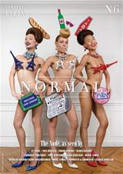 Normal Magazine issue Issue n°6 (English)
