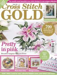 Cross Stitch Gold issue May 2016