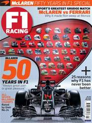 F1 Racing issue May 2016