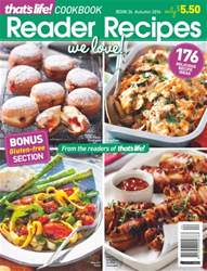 that's life! Reader Recipes issue Issue 24