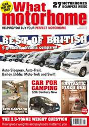 What Motorhome issue Best of British June 2016 issue