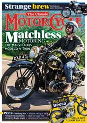 The Classic MotorCycle issue September 2016