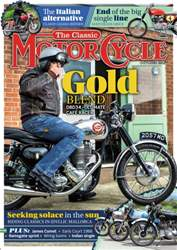 The Classic MotorCycle issue October 2016