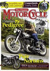 The Classic MotorCycle issue November 2016