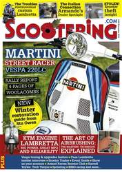 Scootering issue November 2016