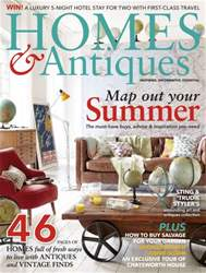Homes & Antiques Magazine issue June 2016